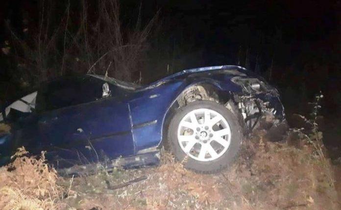 """Aksident i rëndë në Maqedoninë e Veriut: """"Fluturojnë"""" me BMW, një i vdekur dhe tre të plagosur (FOTO)"""