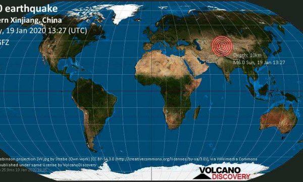 Një tërmet 6.4 ballësh godet Kinën