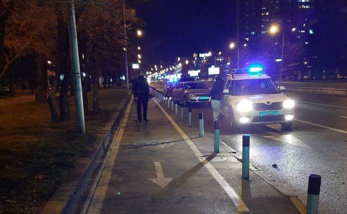Aksident në Shkup: Përplasen dy makina (FOTO)