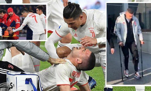 Përfundon sezoni për Demiral dhe Zaniolo, kanë këputur ligamentet (VIDEO)