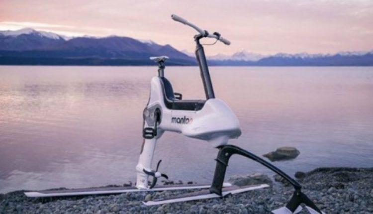 Zbulohet biçikleta elektrike e cila mund të ecë mbi ujë