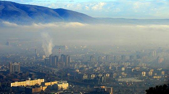 Shkupi në mesin e 10 qyteteve më të ndotura në botë