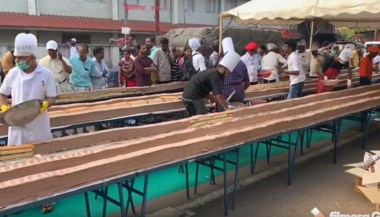 Indi, përgatitet ëmbëlsira më e gjatë në botë
