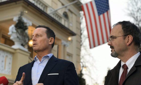 Ambasadori amerikan pret rinisje të dialogut Kosovë-Serbi: Po investojmë shumë energji