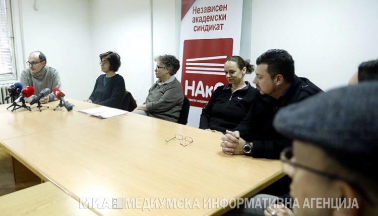 Përfaqësuesit e NAkS në takim me ministrin e arsimit Ademi