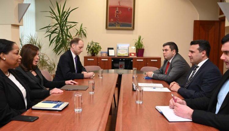 Takim i Zaevit me ambasadoren Bërns: SHBA-ja mbetet aleate e jona strategjike, organizimi i zgjedhjeve të lira dhe të drejta – përgjegjësi e përbashkët e pushtetit dhe opozitës