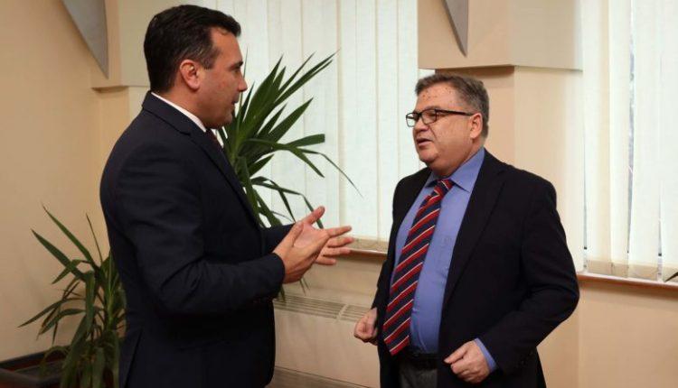Takim Zaev-Timonie: Është mirë të japim argument shtesë para BE-së me miratimin e Ligjit për Prokurorinë Publike