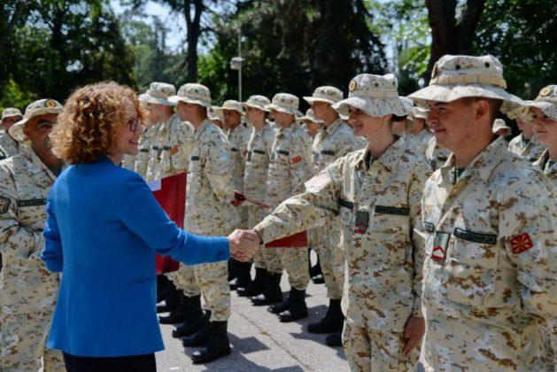 Hapet konkurs për pranimin e 70 ushtarëve të rinjë në ARM, paga 25 mijë denarë