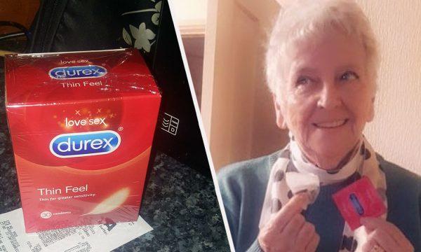 Gruaja e moshuar blen një pako me prezarvativë duke menduar se është çaj