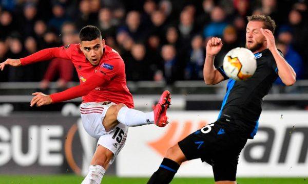 Man United merr vetëm barazim ndaj Club Brugge