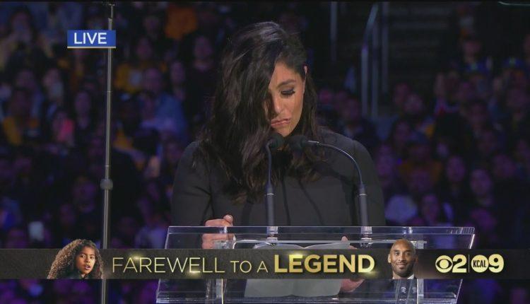 Fjalimi emocionues i gruas së Kobe Bryant (VIDEO)