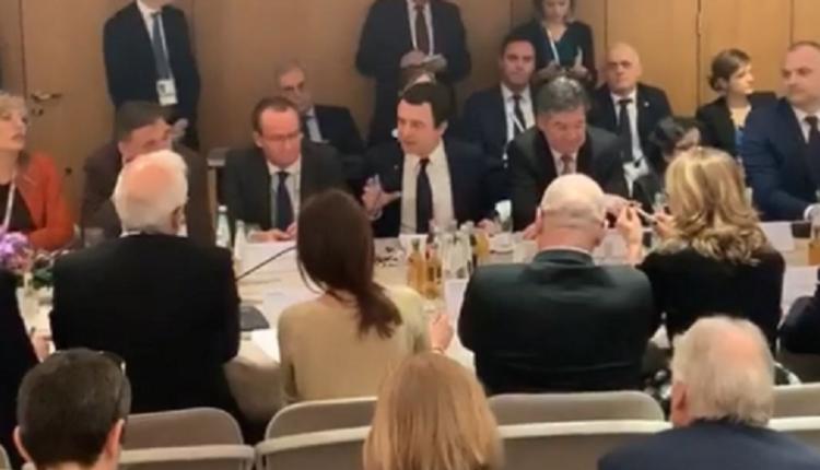 Kurti ia thotë në sy Vuçiqit: Sa më shpejtë që çliroheni nga Kosova, aq më mirë për te dy vendet do të jetë (VIDEO)