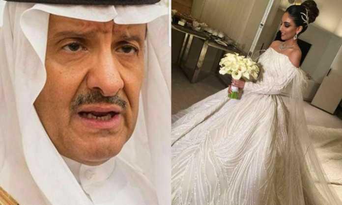 """Dasma e bujshme, sheiku paguan 50 milion dollar dhe e """"lan"""" në diamante nusen 25-vjeçare (VIDEO)"""