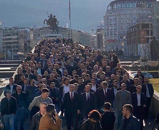 Koalicioni ASh-AA e nis fushatën nga Aleksandri i Madh dhe Shkupi 2014