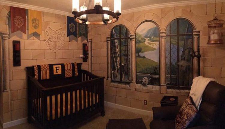 Nëna dekoron dhomën e foshnjës si në librat e Harry Potter, çmenden fansat e sagës