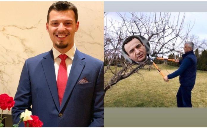 """Endrit Thaçi publikon fotografi ku babai i tij """"krasitë"""" Albin Kurtin (FOTO)"""