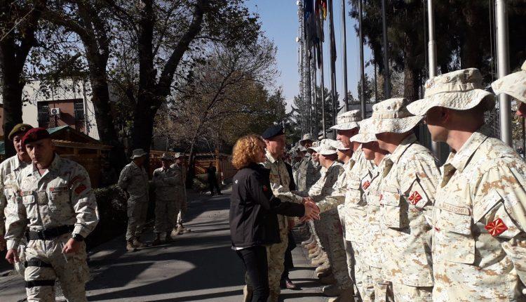 Shtatë pjesëtarë të Armatës nesër kthehen nga misioni në Afganistan