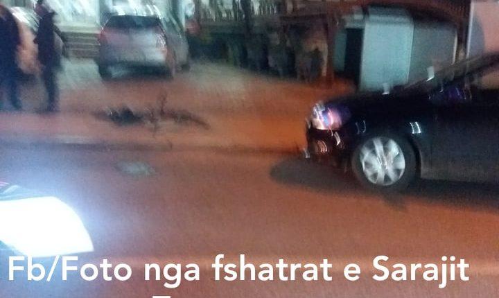 Saraj, vetura me targa nga Tetova godet çiklistin (VIDEO)