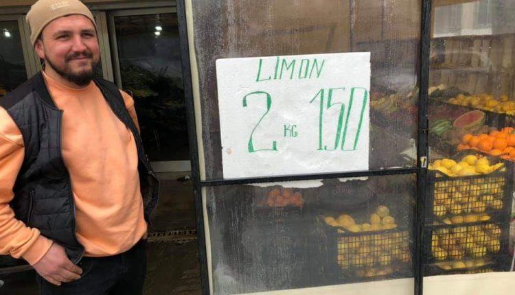 Shitësi nga Çairi ua bën 8 e 2 atyre që i hipën çmimet, 2 kg limona vetëm 150 den