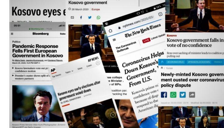 Ballinat e mediave botërore për rrëzimin e Qeverisë në kohë pandemie