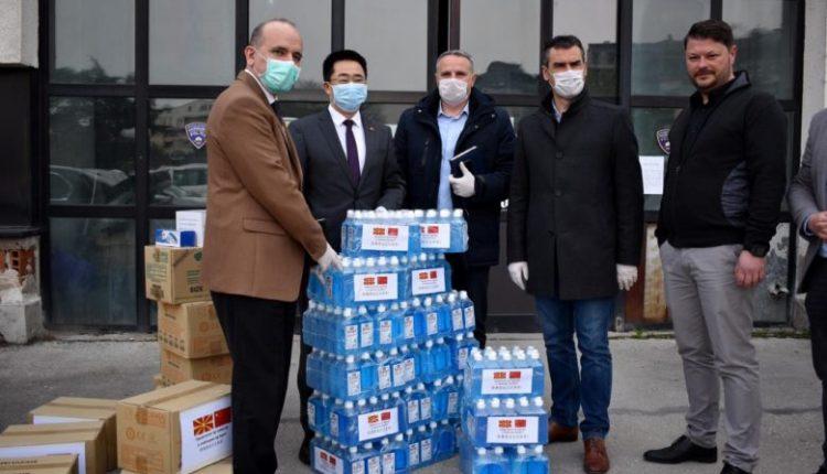 Donacion nga policia kineze për të punësuarit në MPB