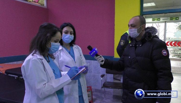 Pa maska dhe doreza personale, nuk lejohet hyrja në Spitalin e Gostivarit