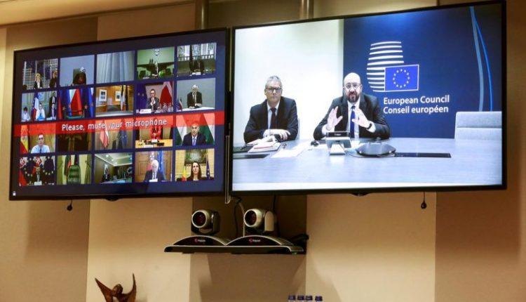 Liderët e BE-së në video-samit për krizën me koronavirusin, pritet edhe konfirmim për negociatat me Shkupin dhe Tiranën