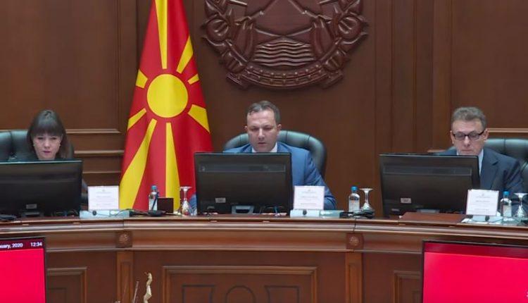 Qeveria e Maqedonisë miratoi vendimin për anulimin e pagesës së kredive për qytetarët dhe firmat