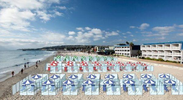 A mund të jetë kjo zgjidhja për plazhin e këtij viti, në mënyrë që të ruhet distancimi social? (FOTO)