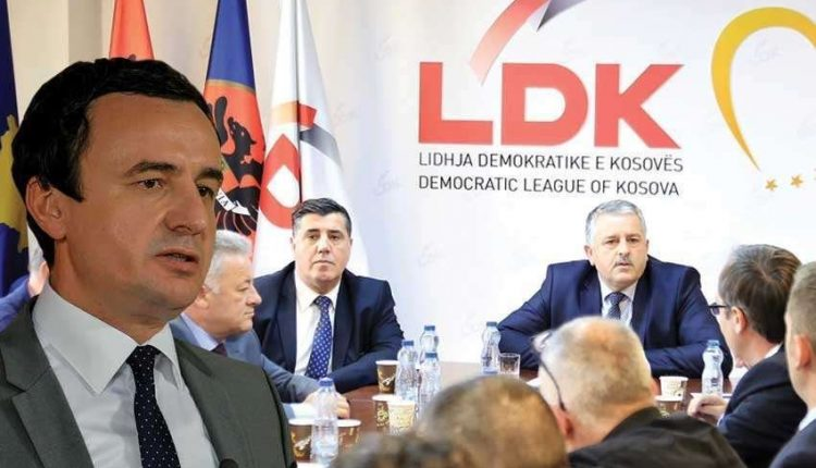 Largohet edhe një zyrtar nga LDK-ja: Nga ky moment do ta përkrah fuqishëm kryeministrin Kurti