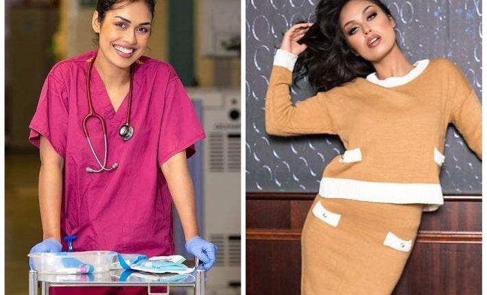 Për pandeminë, Miss Anglia lë kurorën dhe i kthehet punës si mjeke