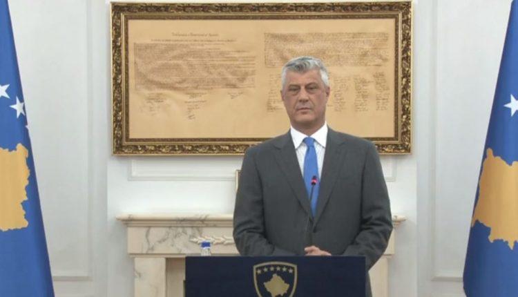 Thaçi: Të gjithë e kemi për obligim moral dhe ligjor ta respektojmë Kushtetutën