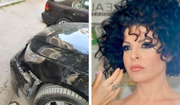 Aurela Gaçe përplas makinën dhe fajin e ka 'trotuari i papërgjegjshëm'