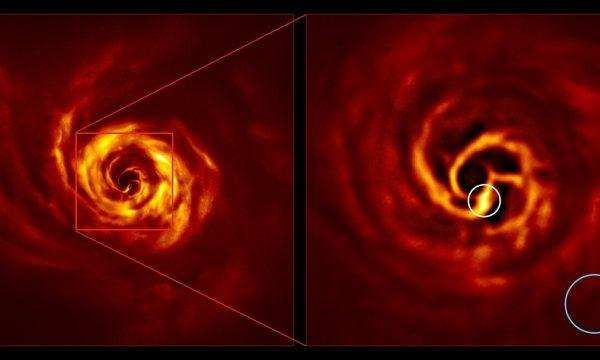 Shkencëtarët me në fund e shohin se si krijohet një planet