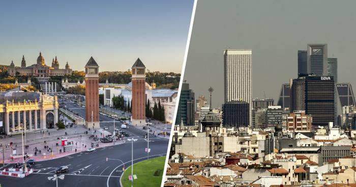 Madridi dhe Barcelona dalin nga izolimi të hënën