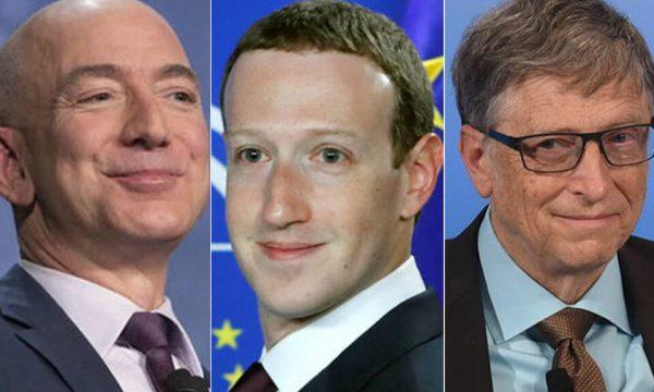 Pandemia ua shtoi pasurinë miliardërve amerikanë, ndër pesë të parët Bezos, Zuckerberg e Gates