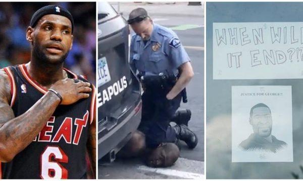 """LeBron James pas vrasjes së George Floyd: """"Pse nuk na do Amerika?"""" (VIDEO)"""