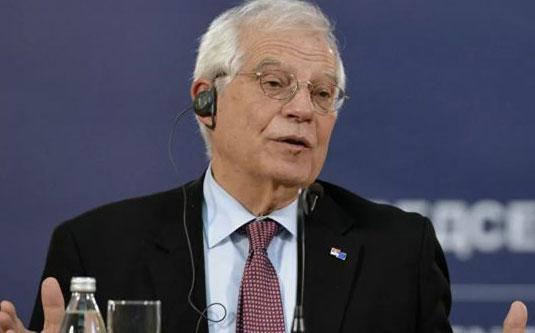 Borell: BE-ja është për mbajtjen e kufijve aktualë të Kosovës dhe Serbisë