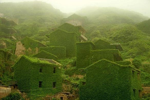 """I """"pushtuar"""" nga natyra, brenda fshatit misterioz në Kinë (FOTO LAJM)"""