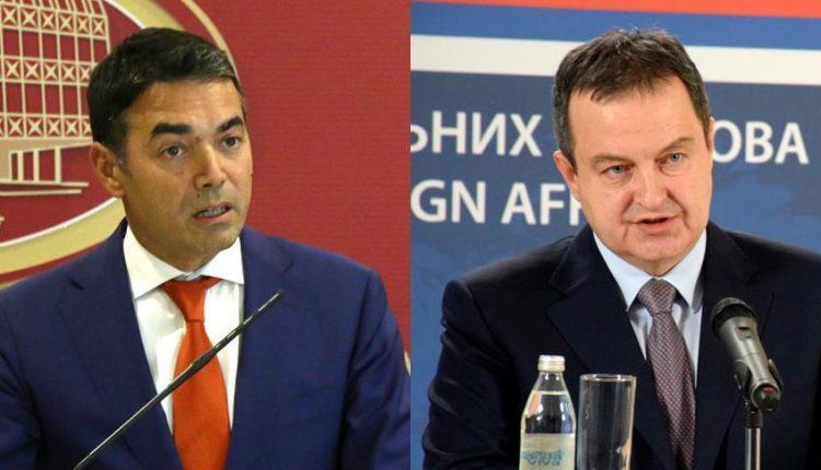 Bisedë telefonike Daçiq-Dimitrov për lehtësimin e masave kufizuese midis Serbisë dhe Maqedonisë së Veriut