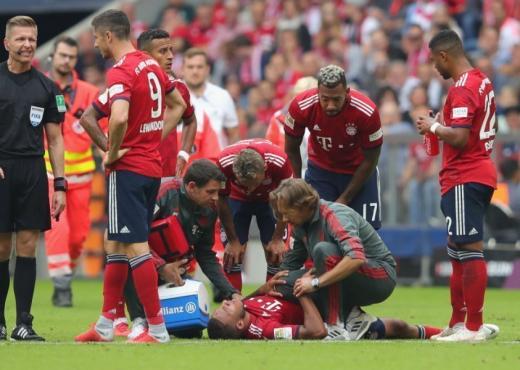 Bayern me 2 mungesa të rëndësishme për duelin e fundjavës