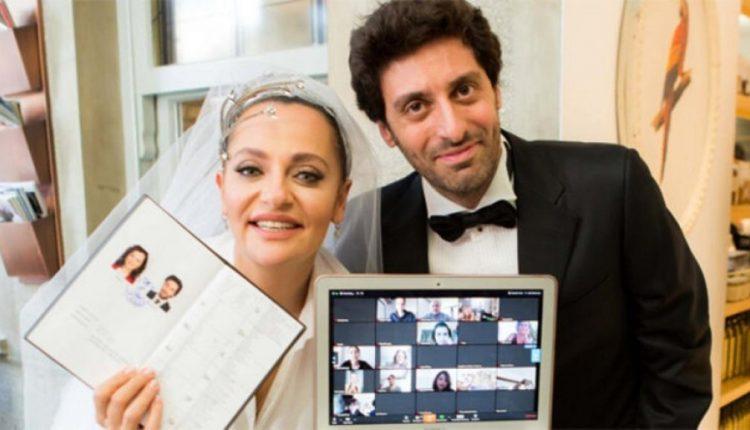Koronavirusi kushtëzon dasmën, aktorja e 'Ertugrul' martohet online