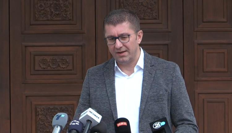 Mickoski: Kemi situatë më serioze se sa zënkat politike