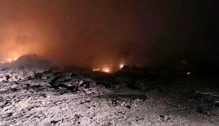 Zjarri sërish e kaploi deponinë Rusino