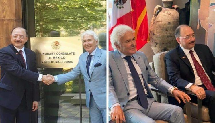 Enver Maliqi, Konzul i shteteve të Bashkuara të Meksikës