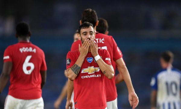 Fernandes shkëlqen në fitoren bindëse të Manchester United kundër Brightonit (VIDEO)