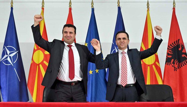 Shqiptarët  LSDM-në  dhe BESËN e çojnë në P.N (DOKUMENT)