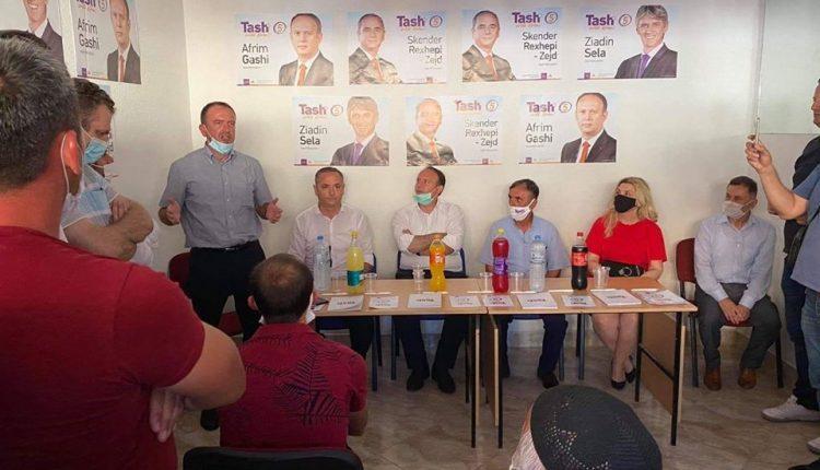 Afrim Gashi së bashku me Zejd Rexhepin morën pjesë në hapjen e Shtabit Komunal të Studeniçanit