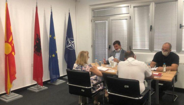 Ambasadorја е Ukrainës vizitoi Agjencinë e Zbatimit të Gjuhës