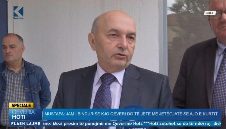 Mustafa garanton: As me Thaçin as me partnerët e koalicionit s'diskutuam për presidentin